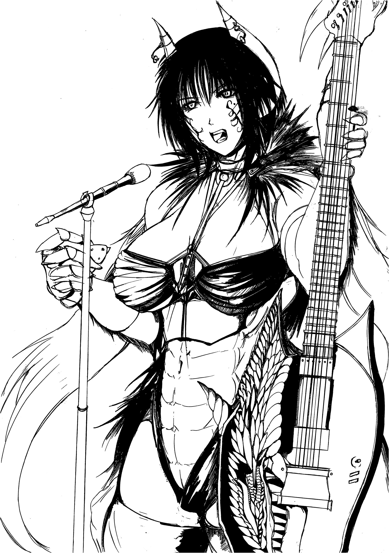獣の歌い手『ラヴィンニエラ』