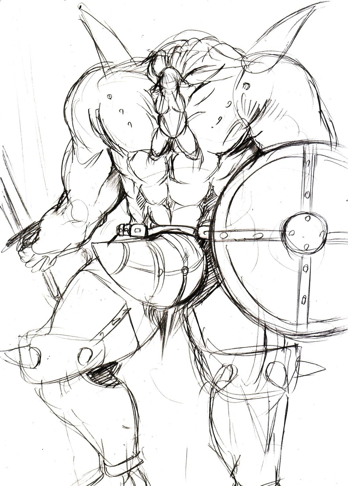 混沌の戦士子2