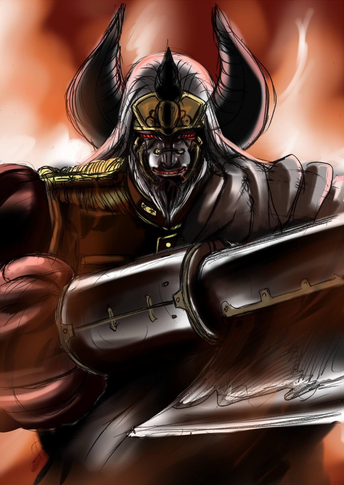 兵器の悪魔『ウディンダイ』