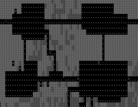 長方形二つ重ね部屋