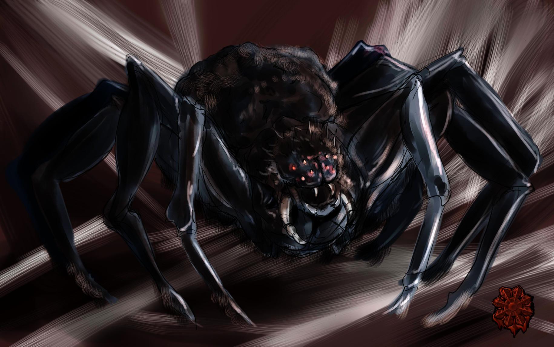 闇の森蜘蛛