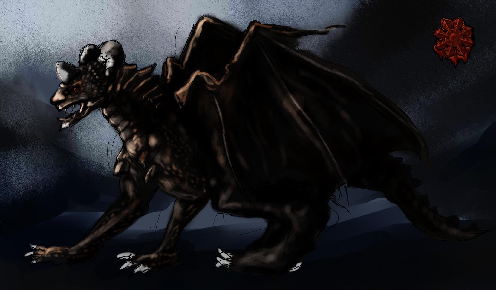 ヤングブラックドラゴン