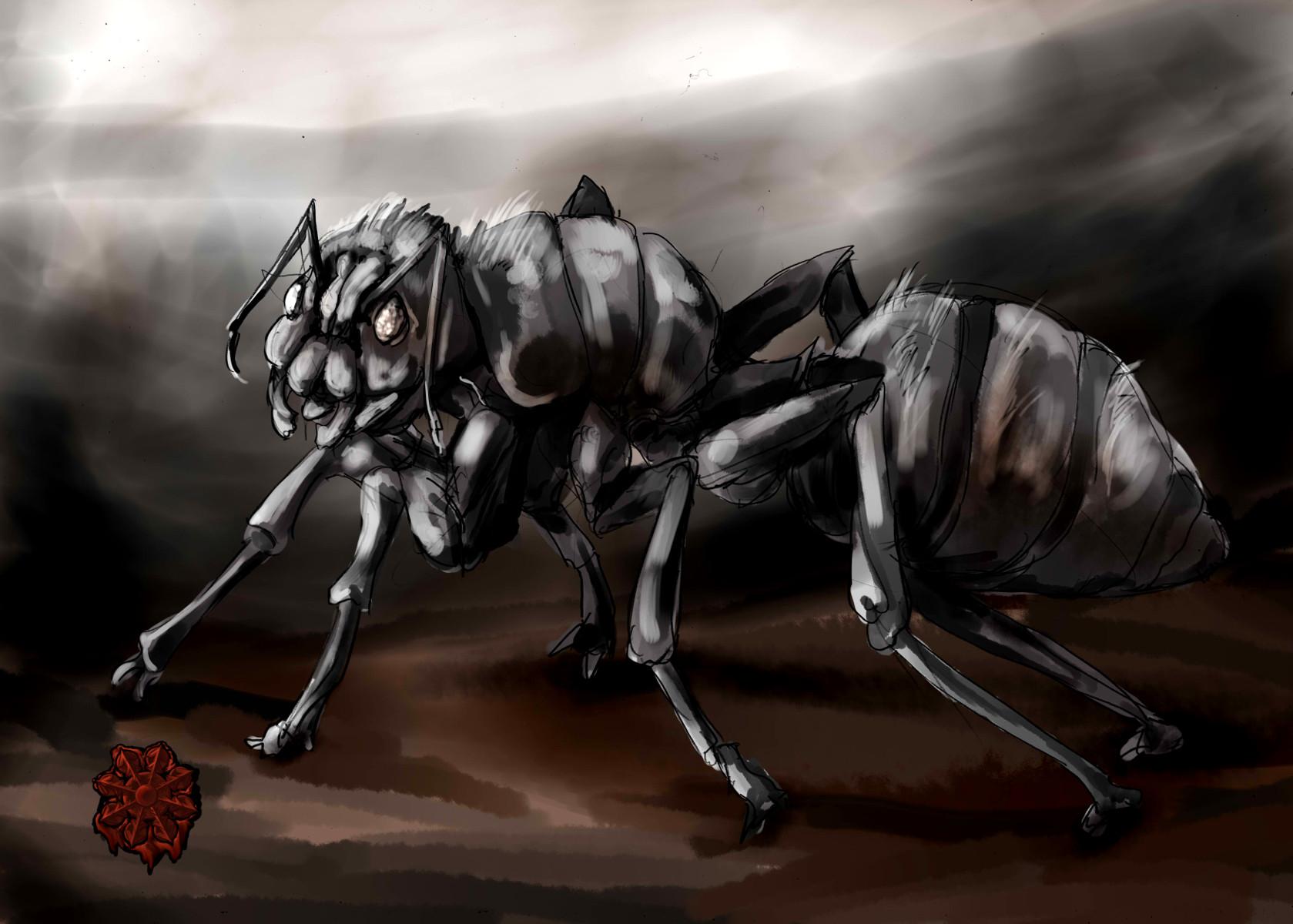 巨大灰色アリ