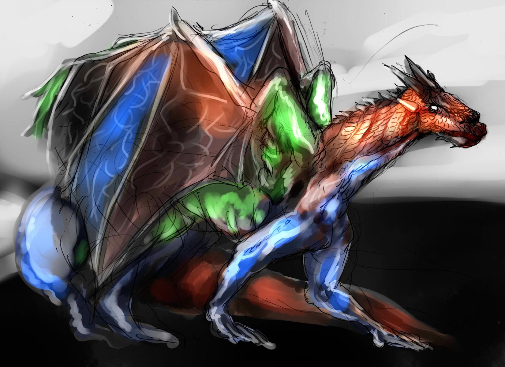 ヤング万色ドラゴン