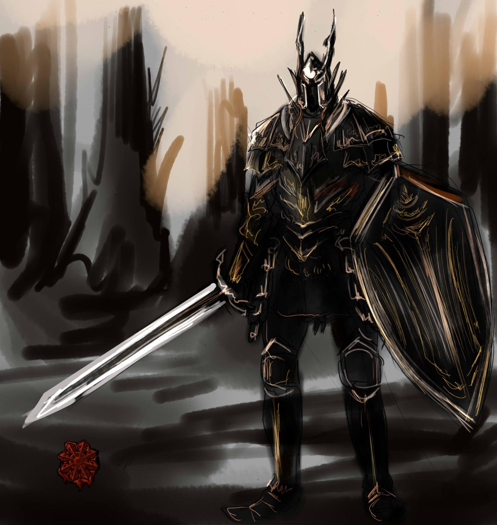 グウィンの黒騎士