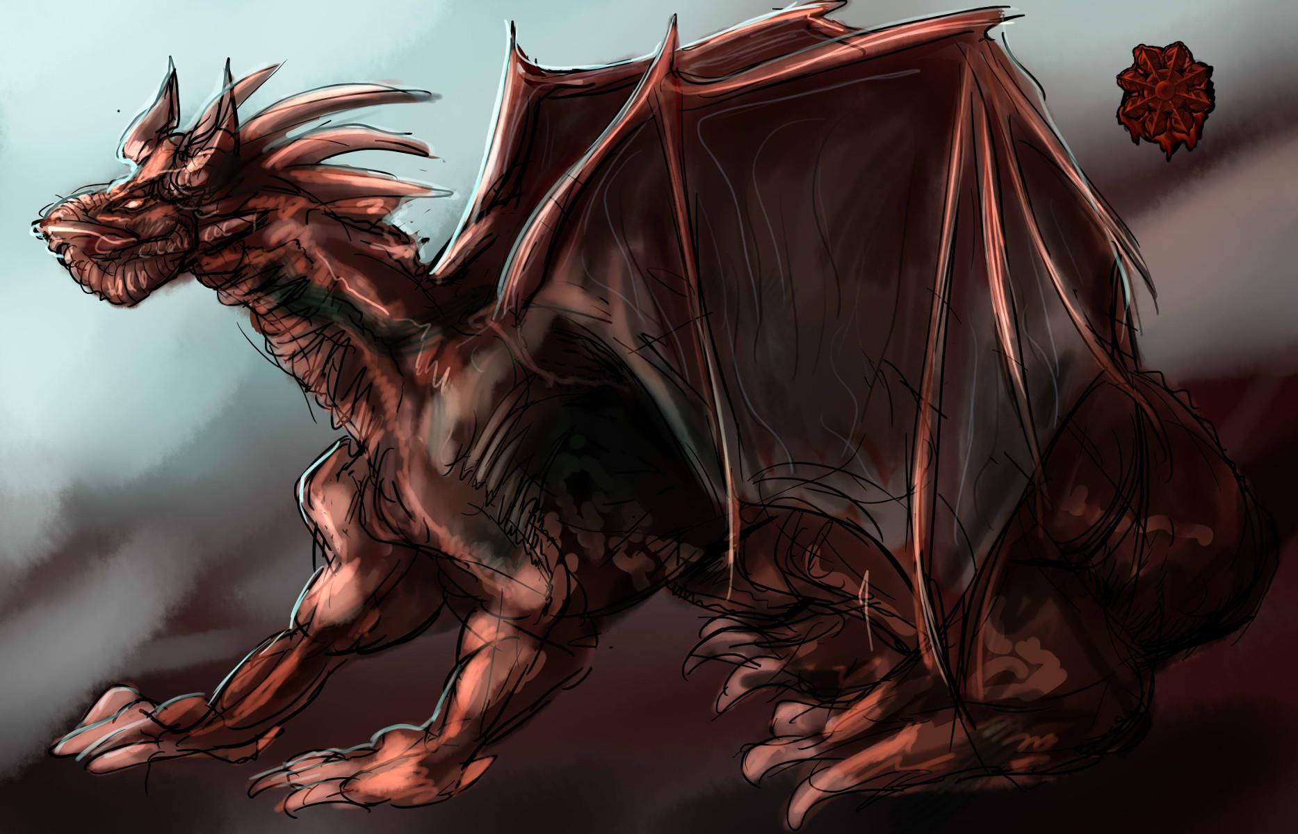 古代ブロンズ・ドラゴン