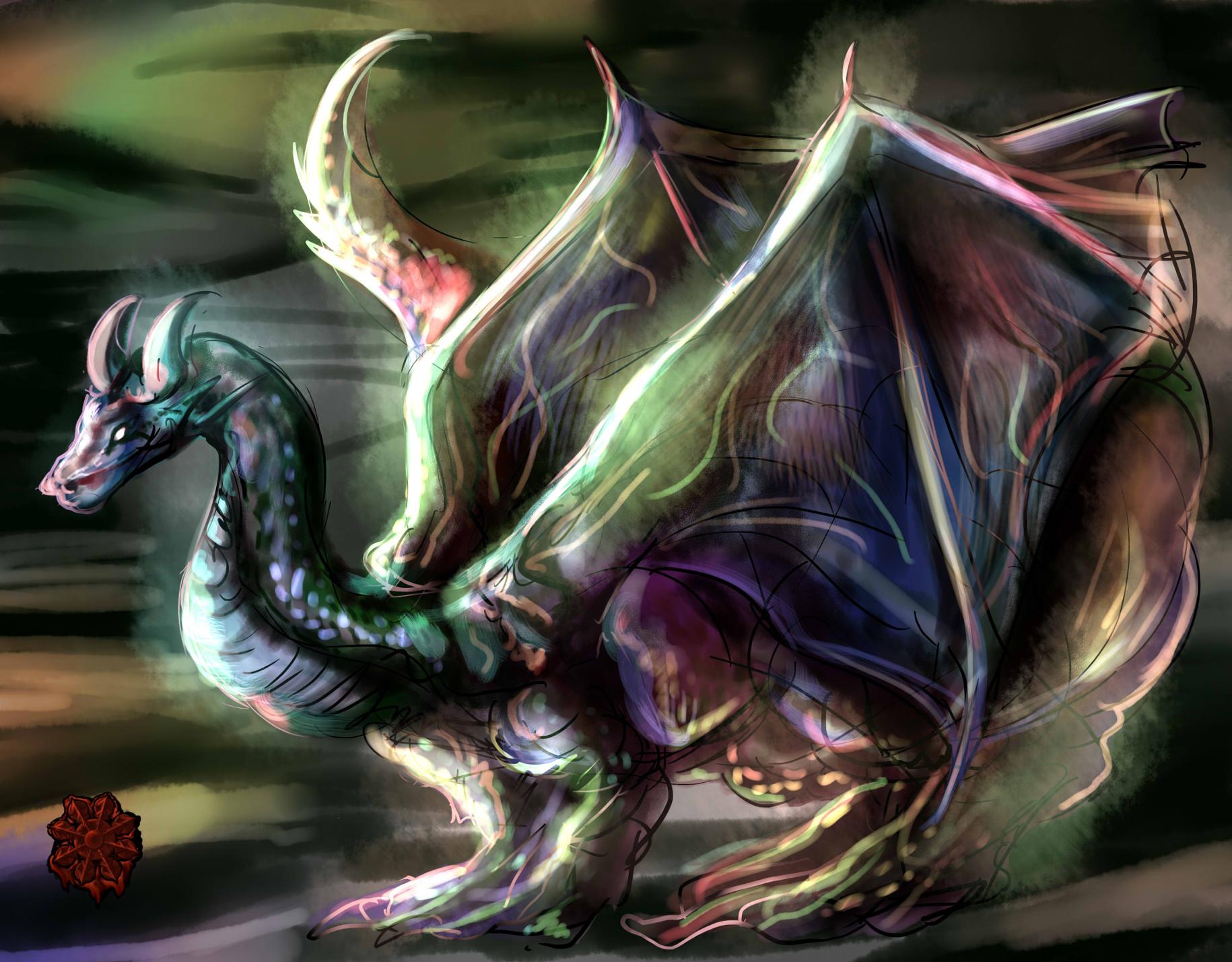 古代万色ドラゴン
