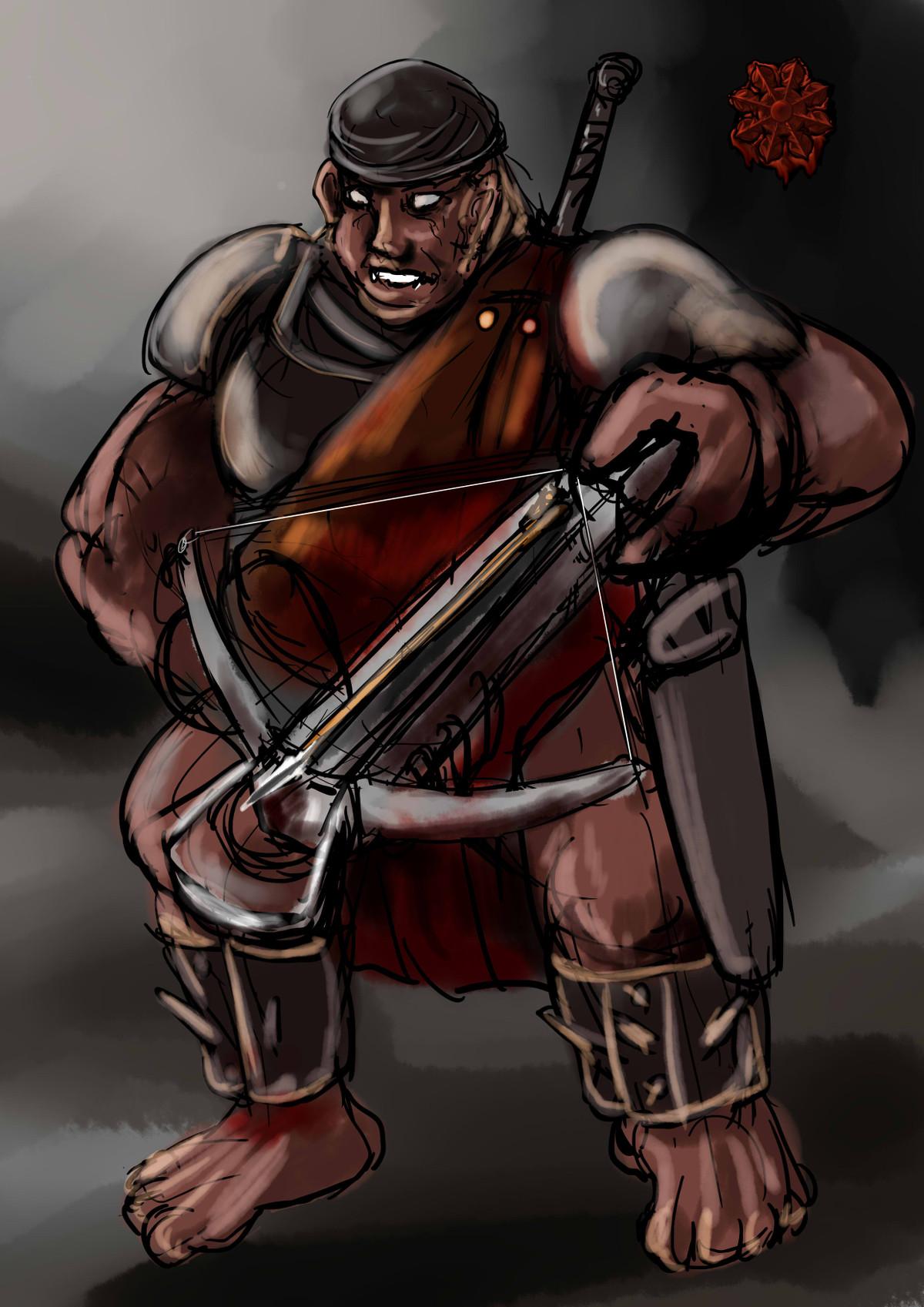 オークの弩弓隊