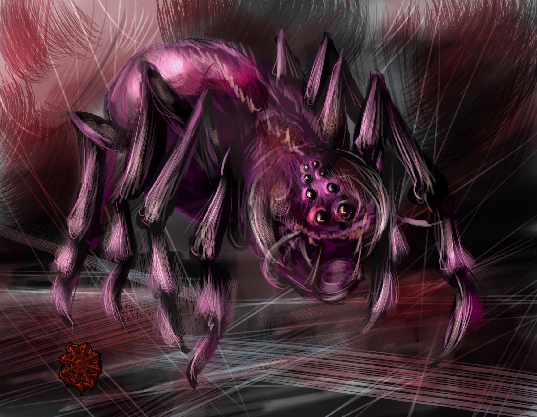 レンの蜘蛛