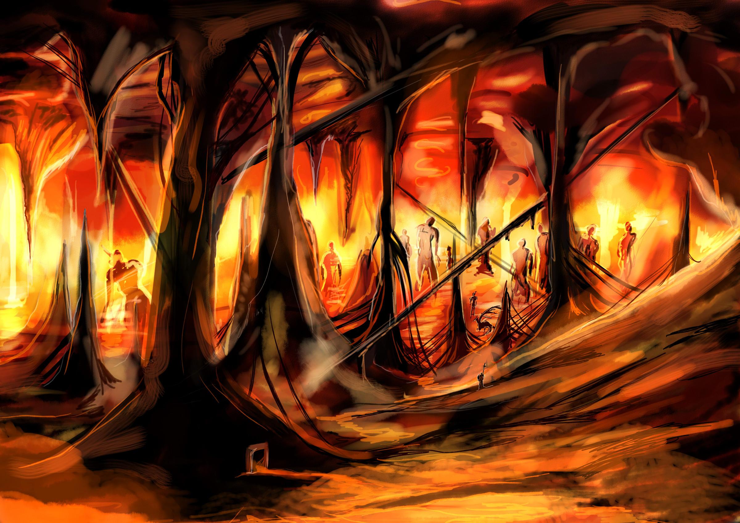 深層溶岩地帯