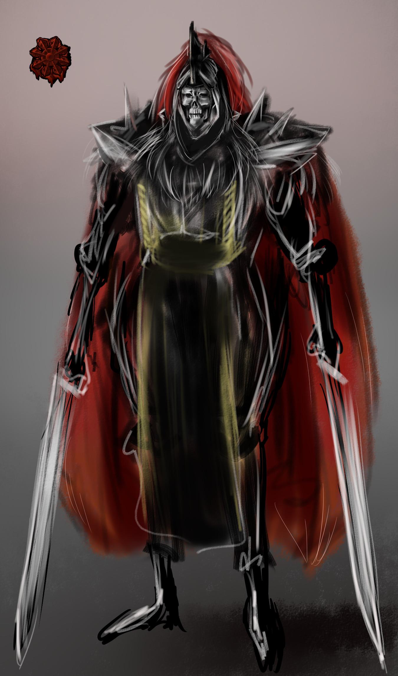 骸骨暗黒パラディン