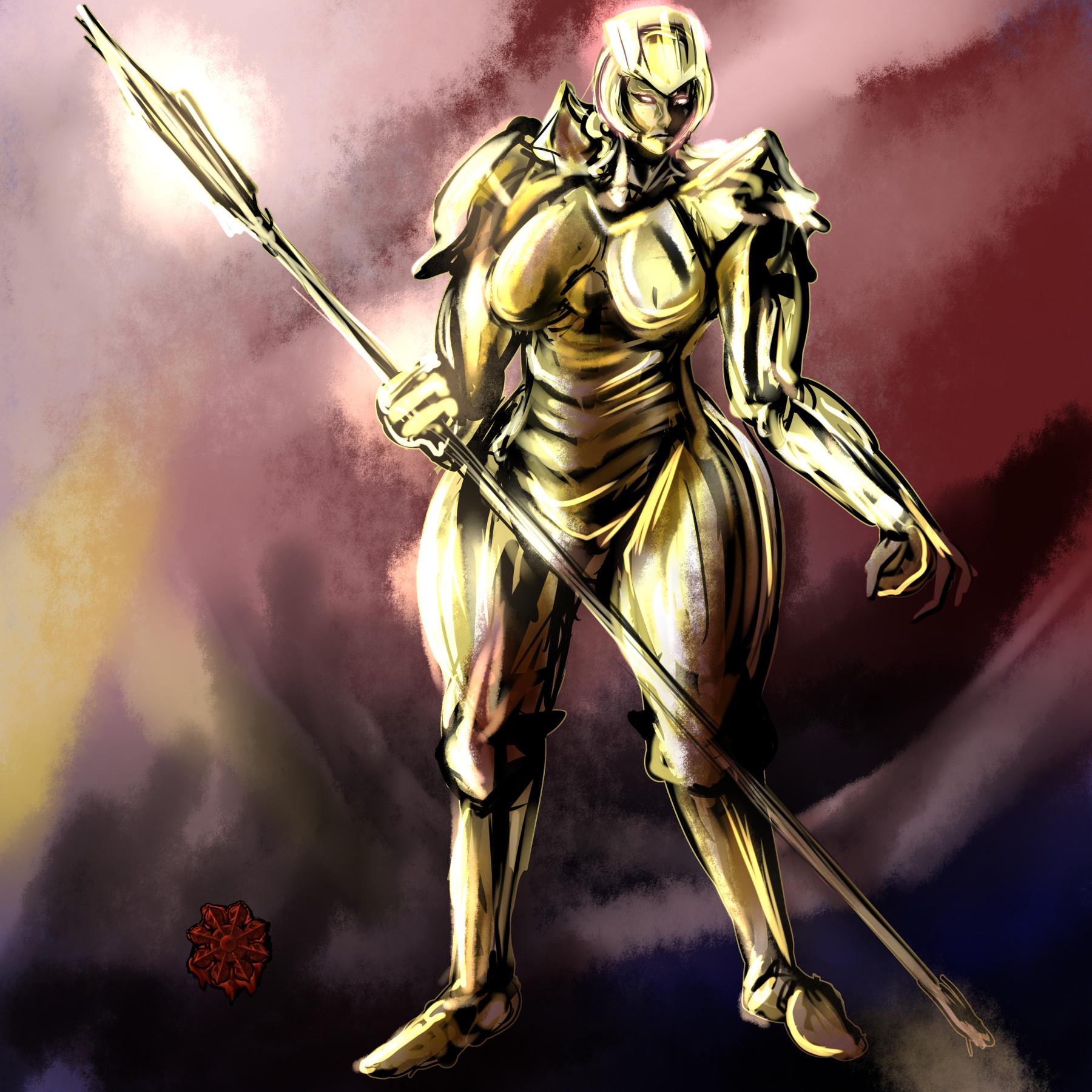 ゴーレム戦士♀