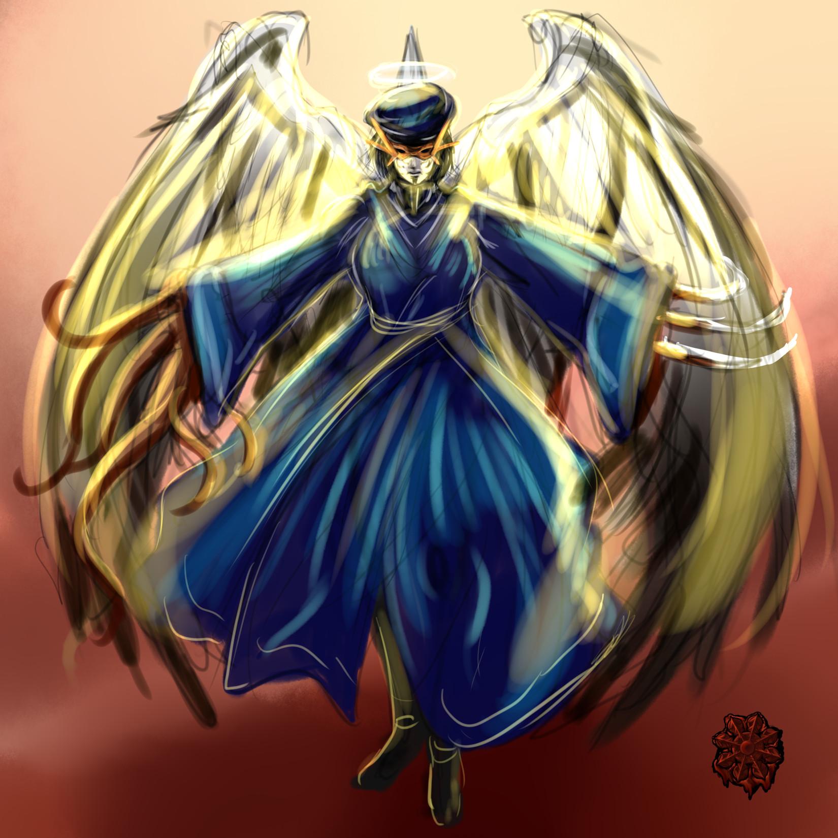 アルコン青魔導師女