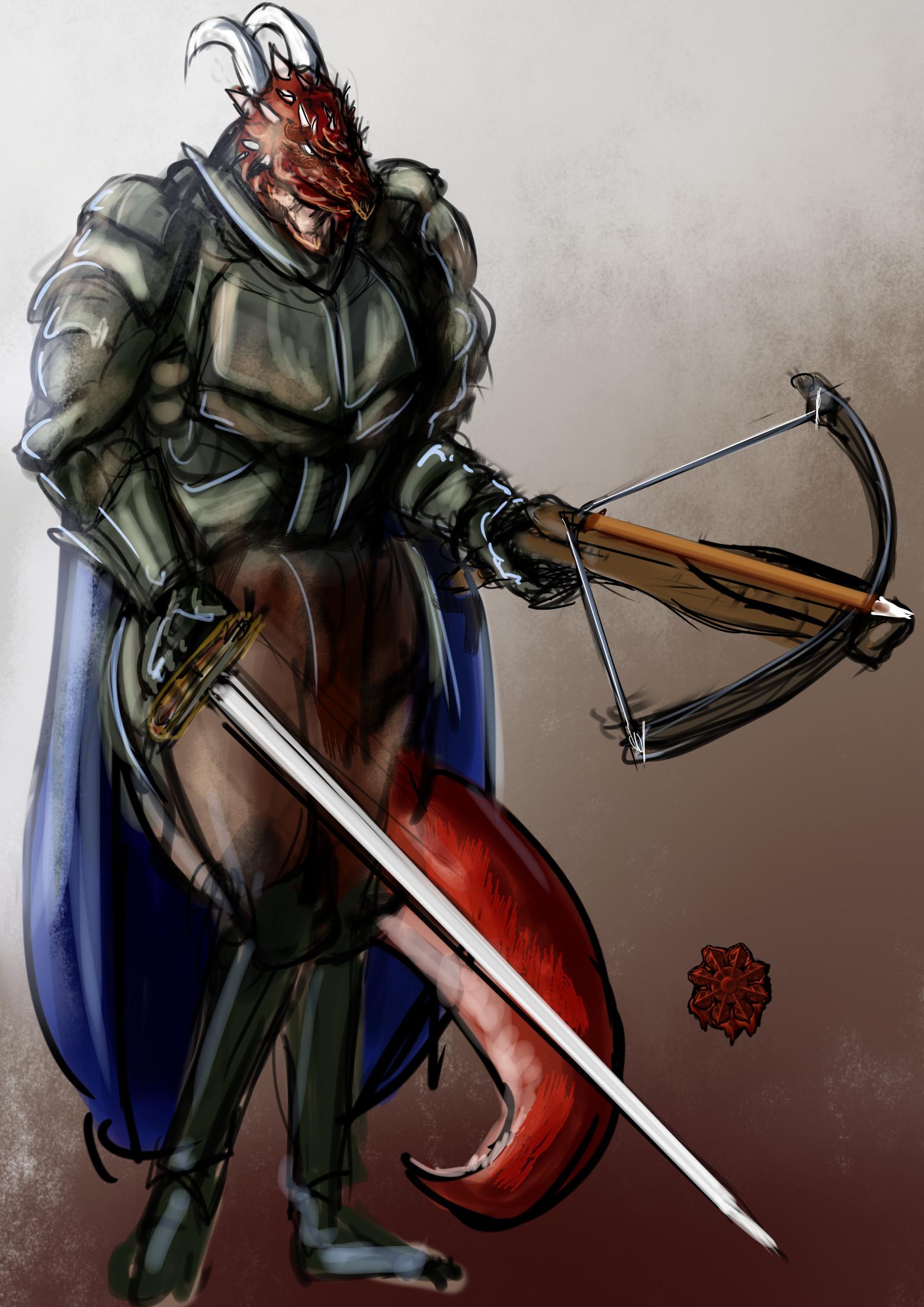ドラコニアン戦士女