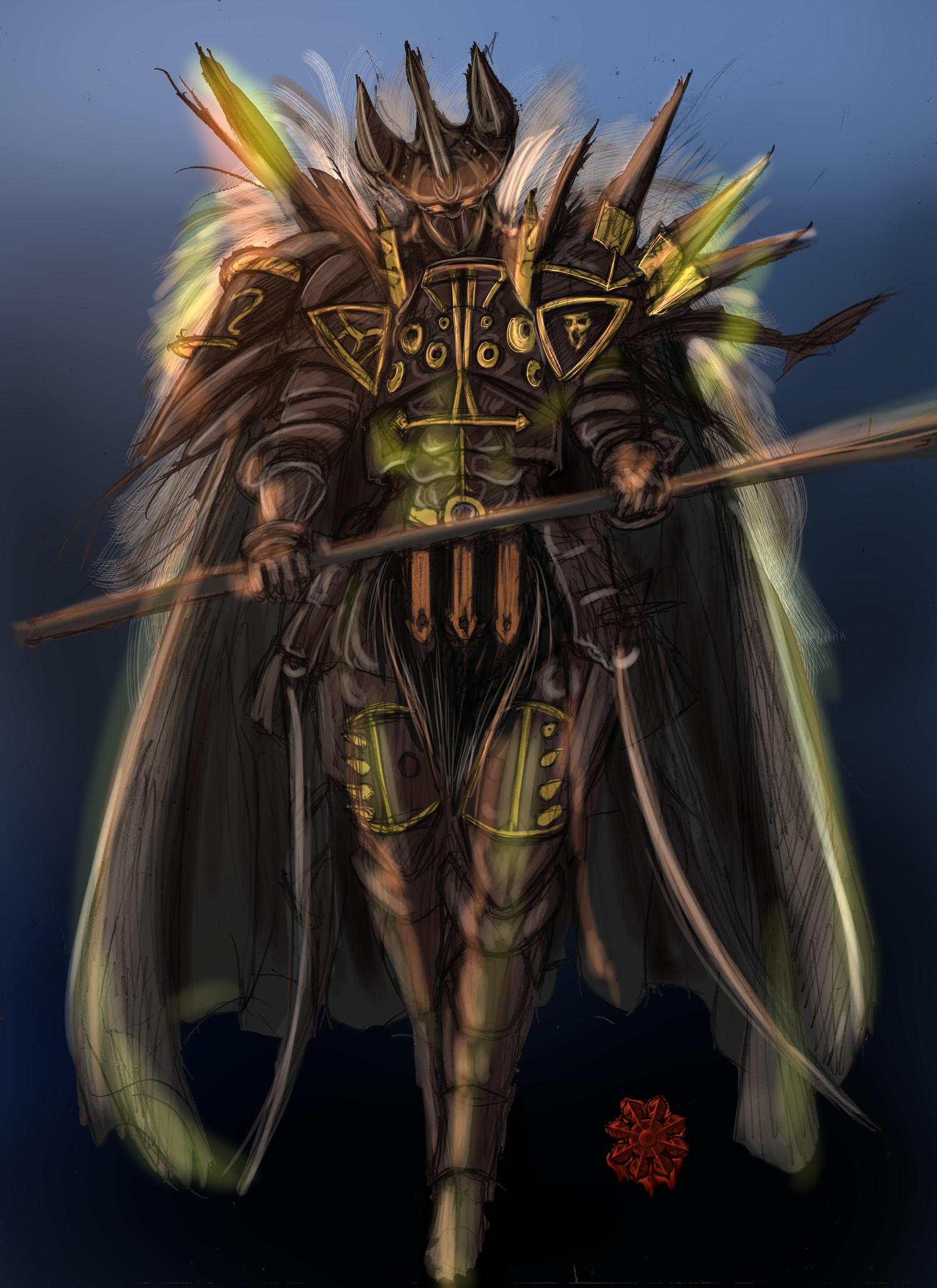 混沌の戦士♀