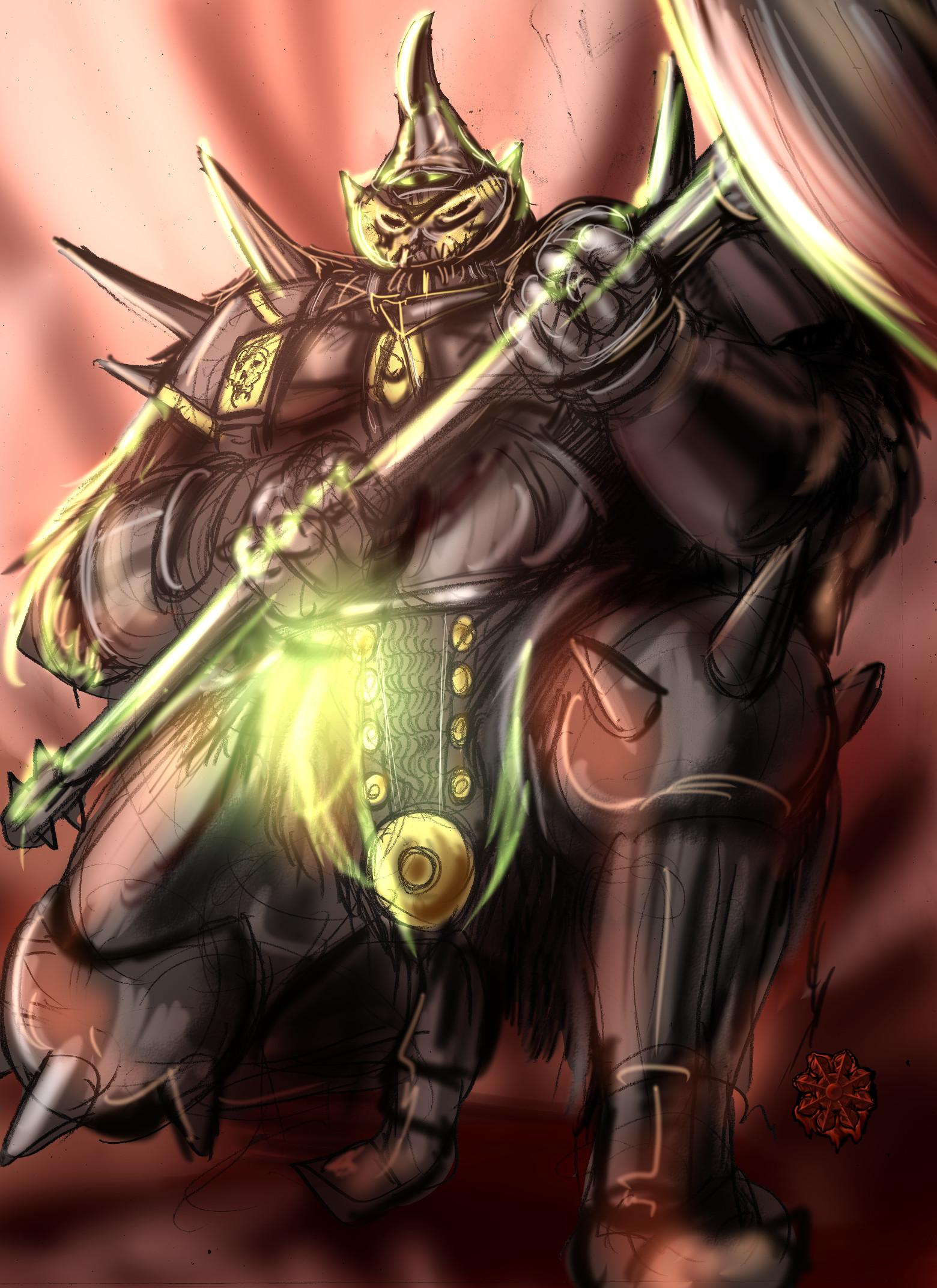 大型種族汎用混沌の戦士