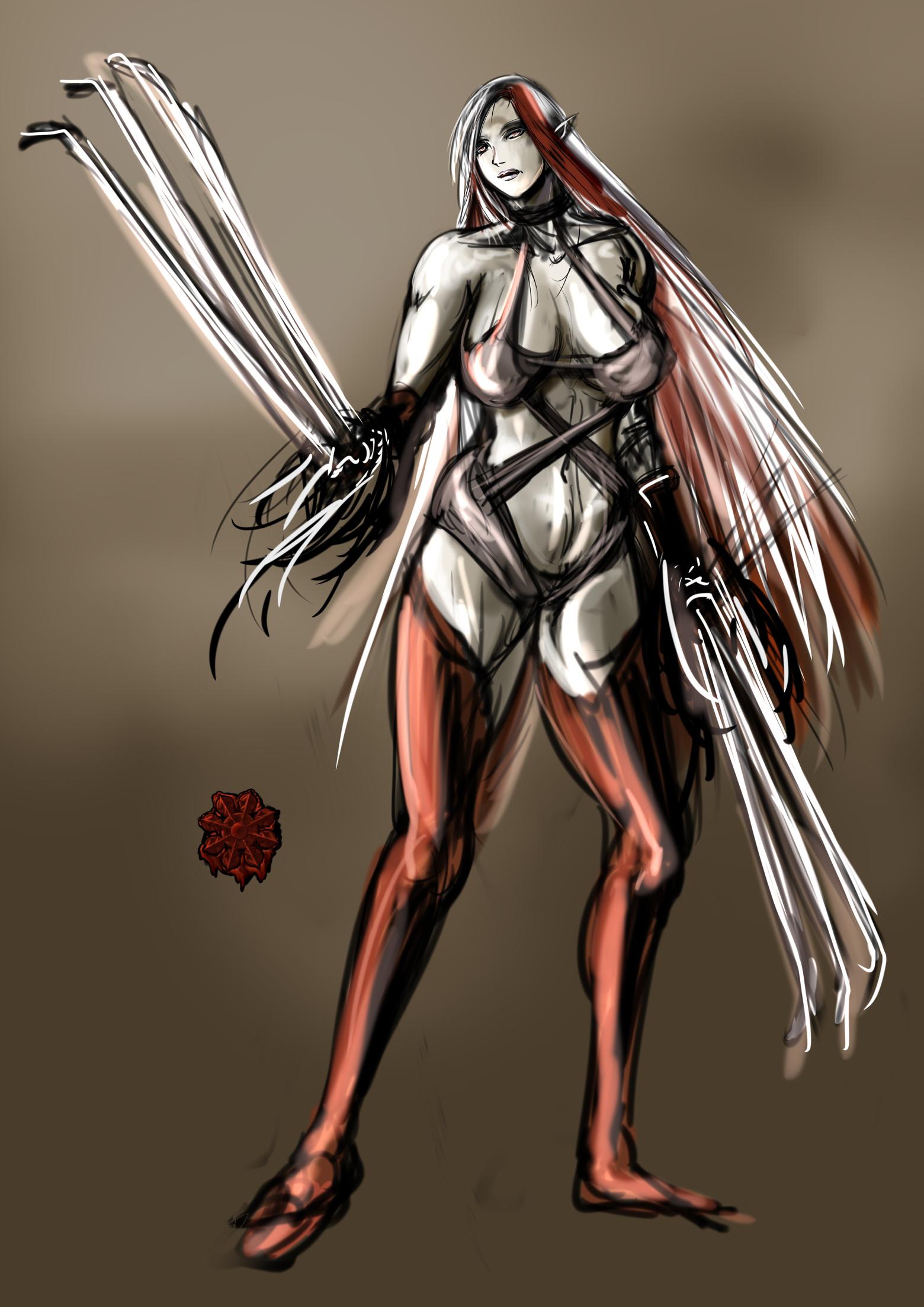 セクシーギャル吸血鬼狂戦士