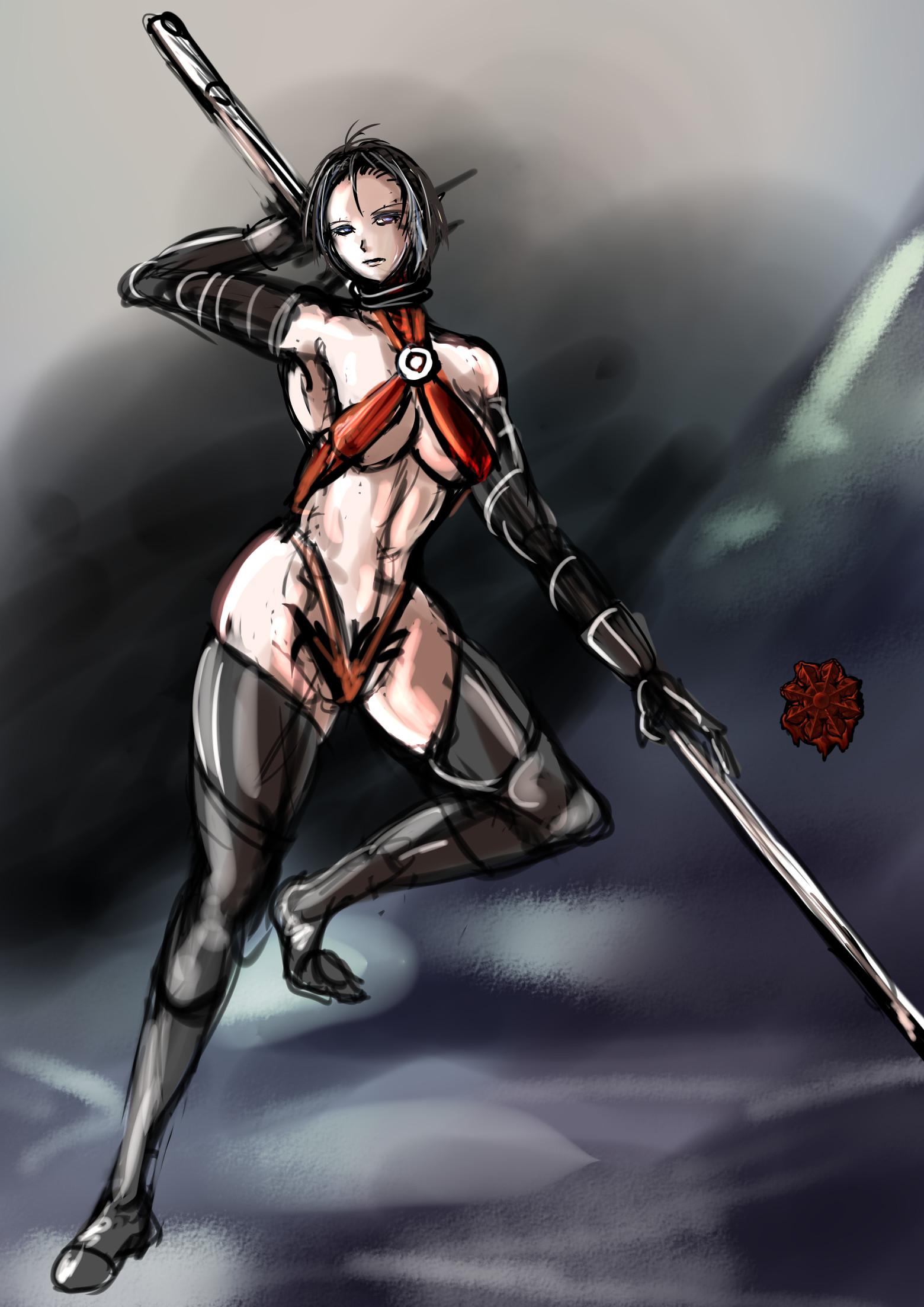 セクシーギャルドゥナダン戦士