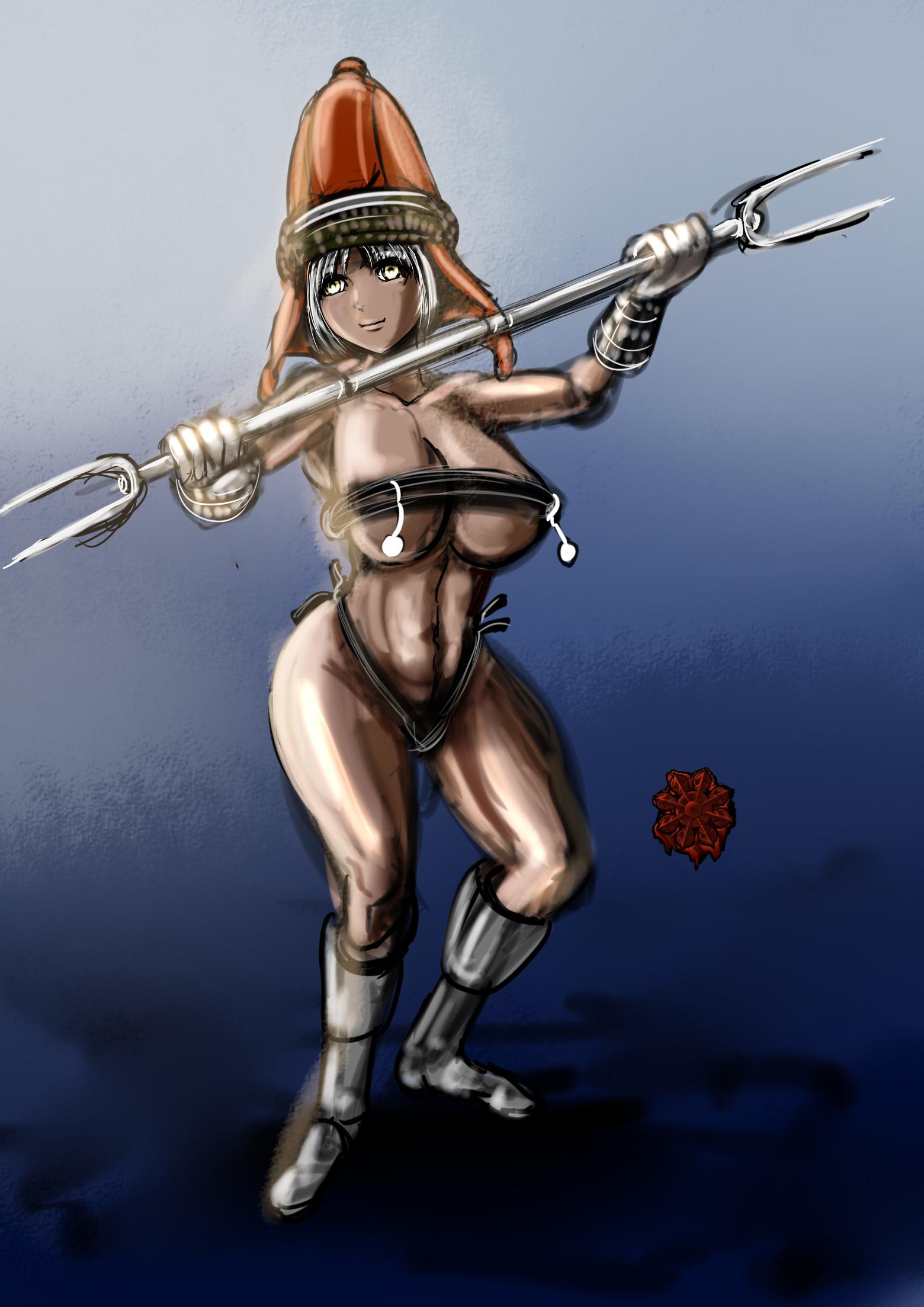 セクシーギャルノーム戦士