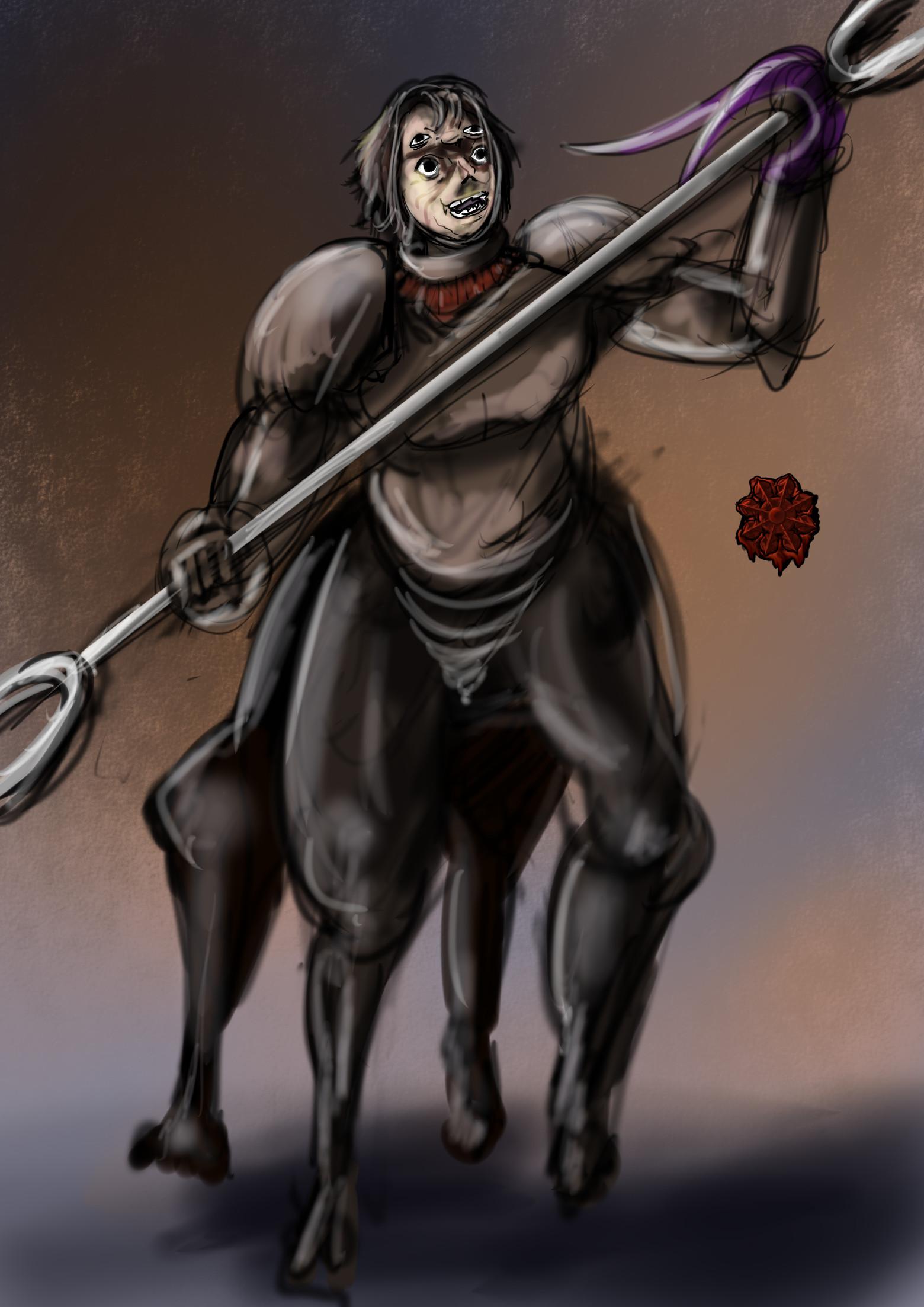 獣人戦士男