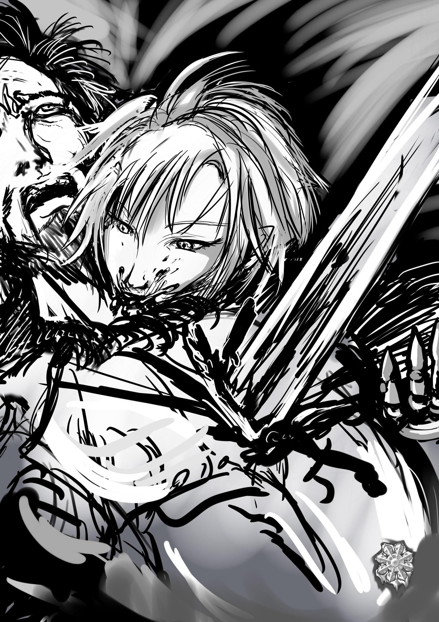 吸血鬼♀剣術家