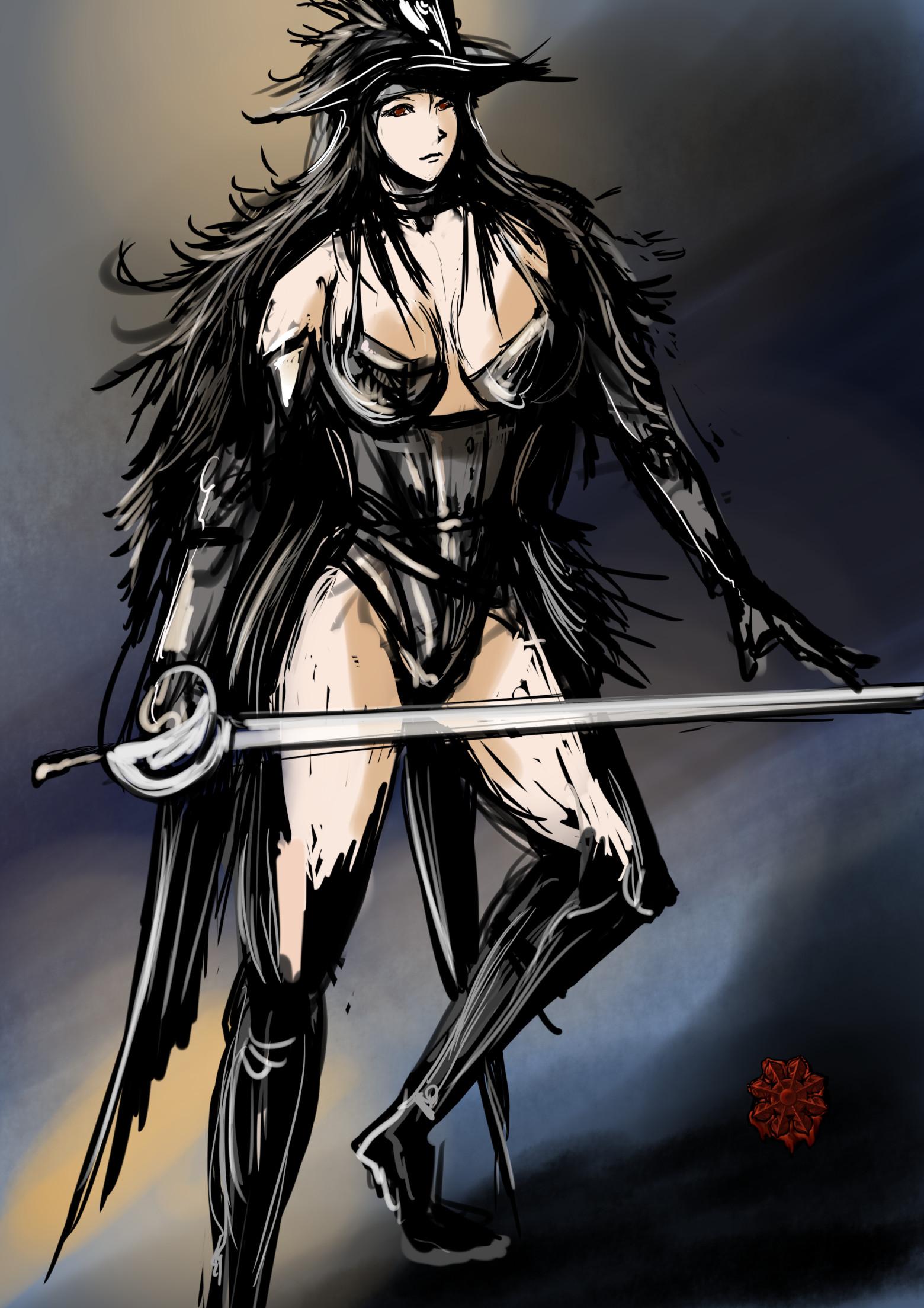 魔法戦士女