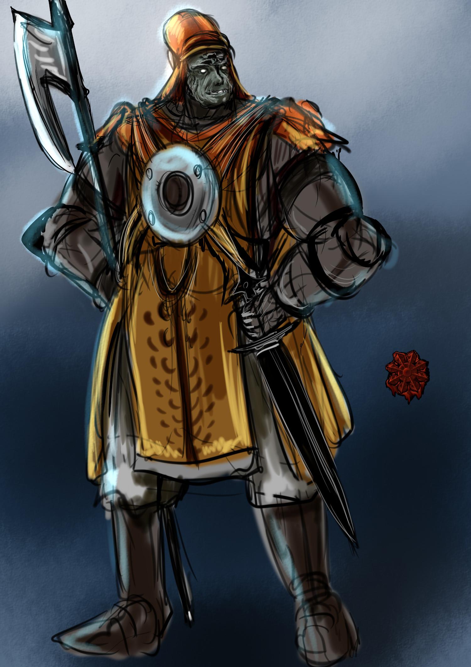 ハーフオーク(ウルク)戦士