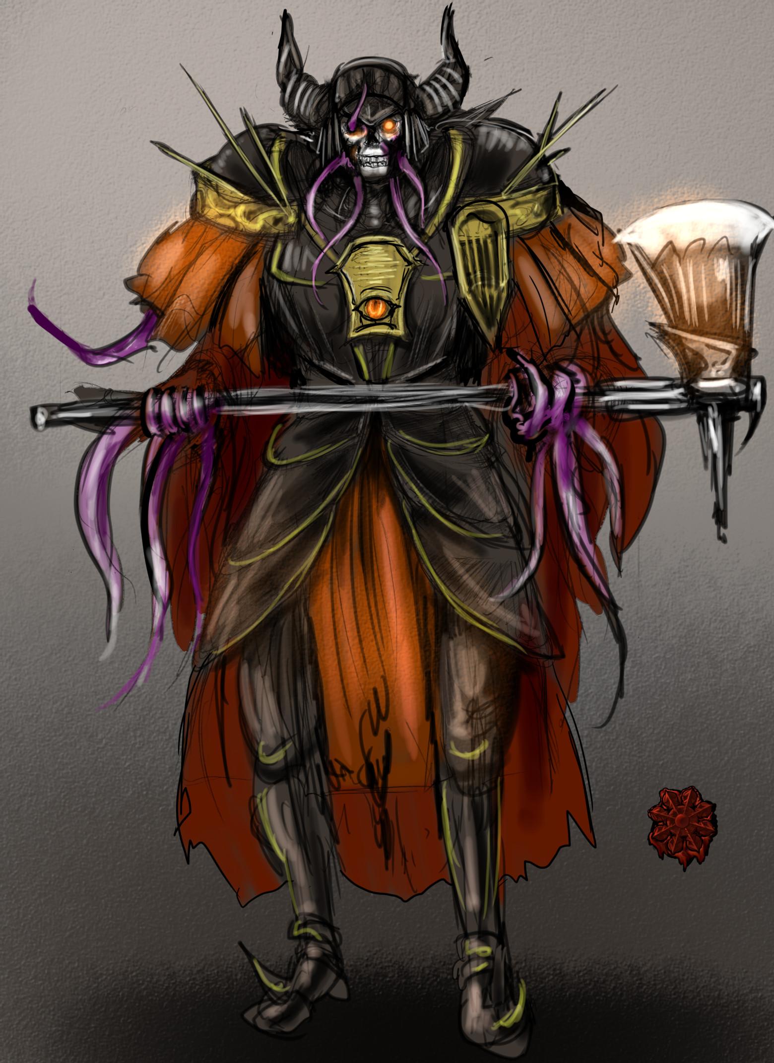 骸骨混沌の戦士