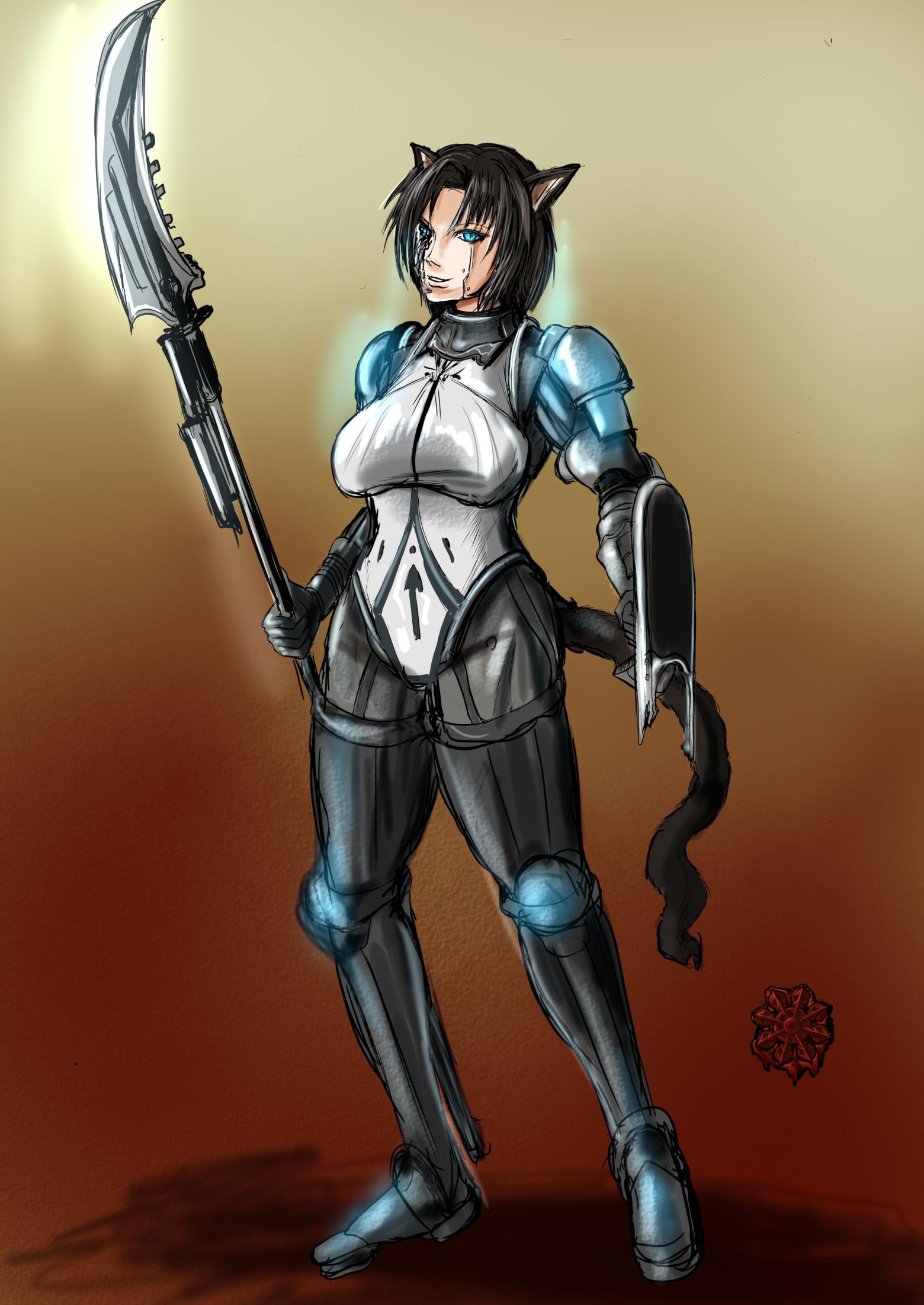 アンドロイド戦士女