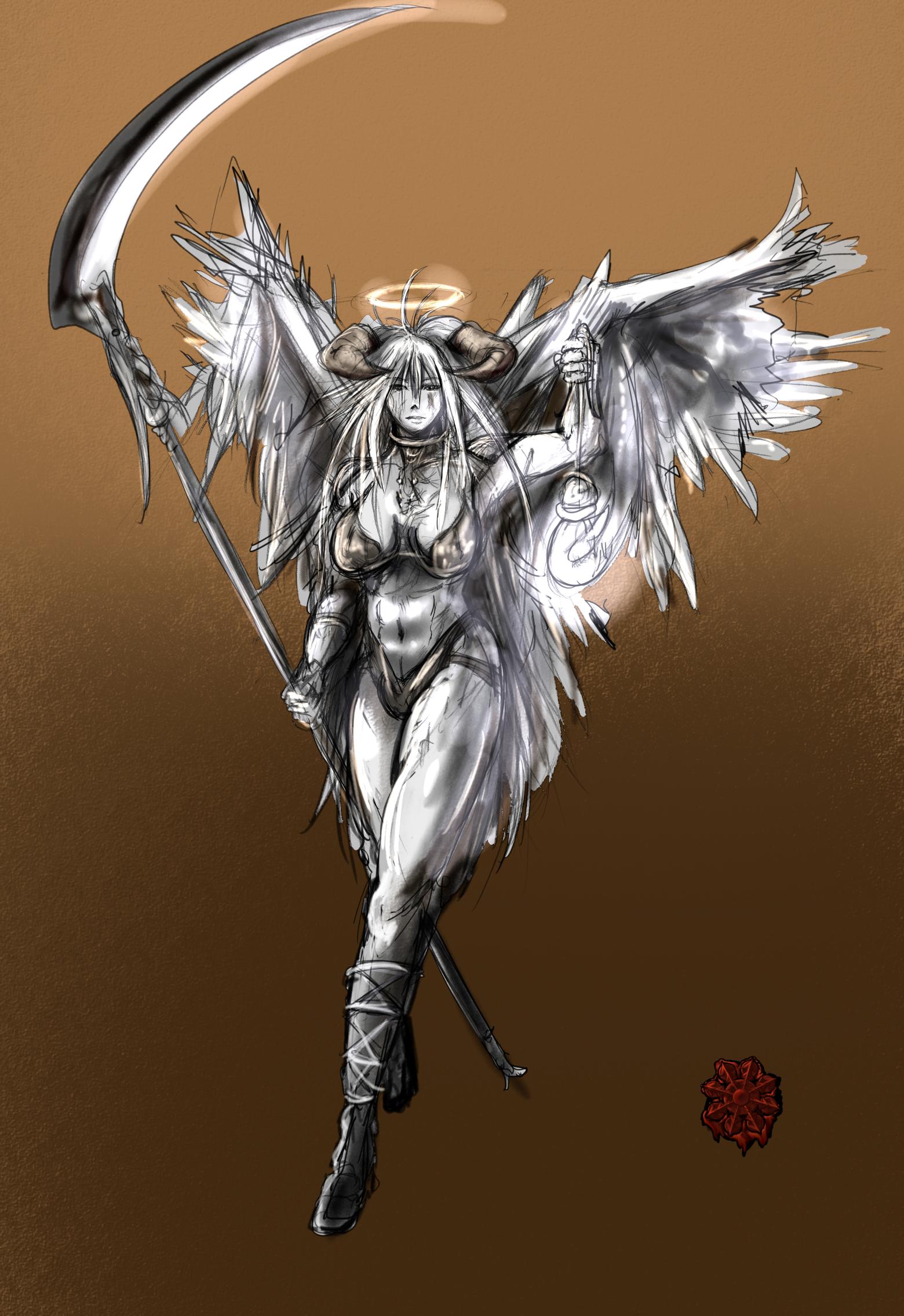 アルコン魔法戦士。
