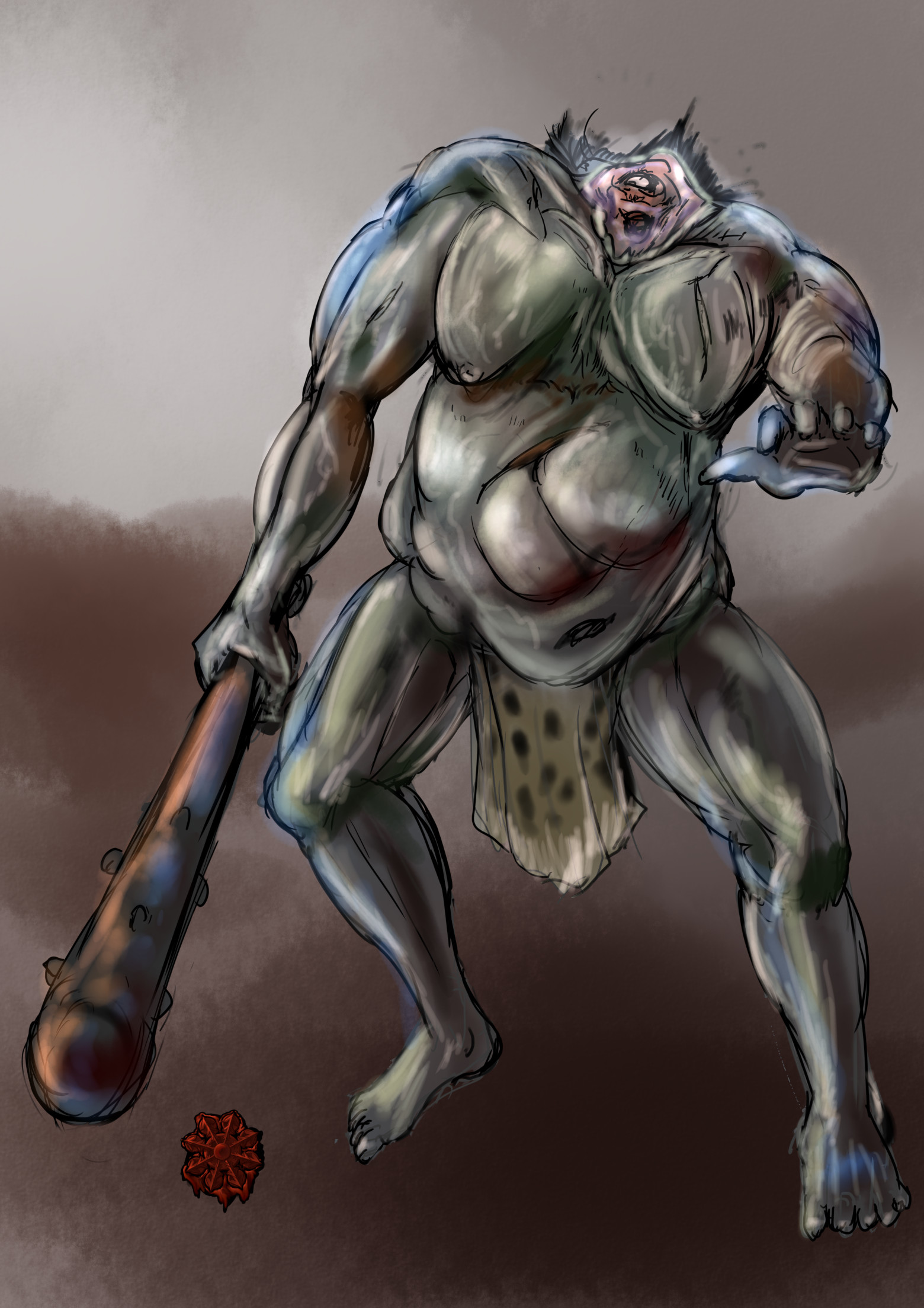首なし鬼/Headless ogre