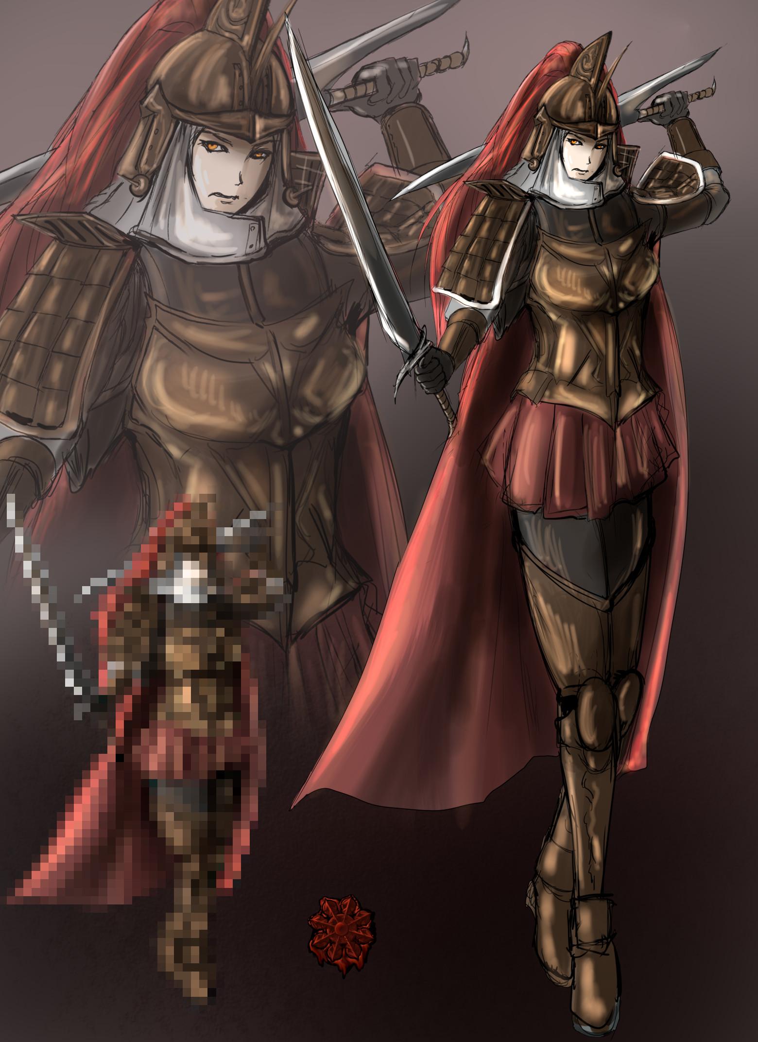 ドゥナダン戦士系女
