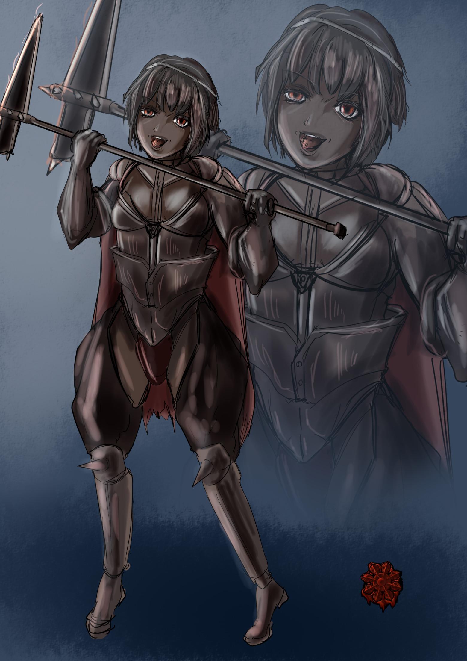 ニーベルング戦士女