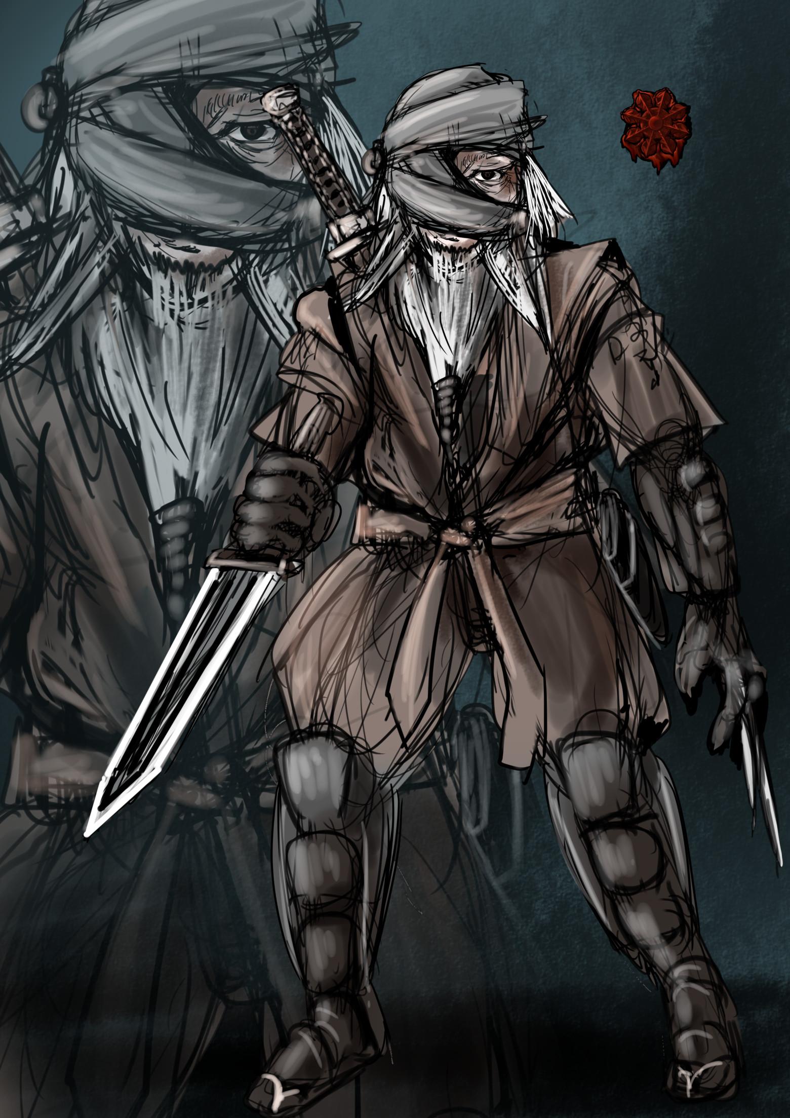 ドワーフ忍者男