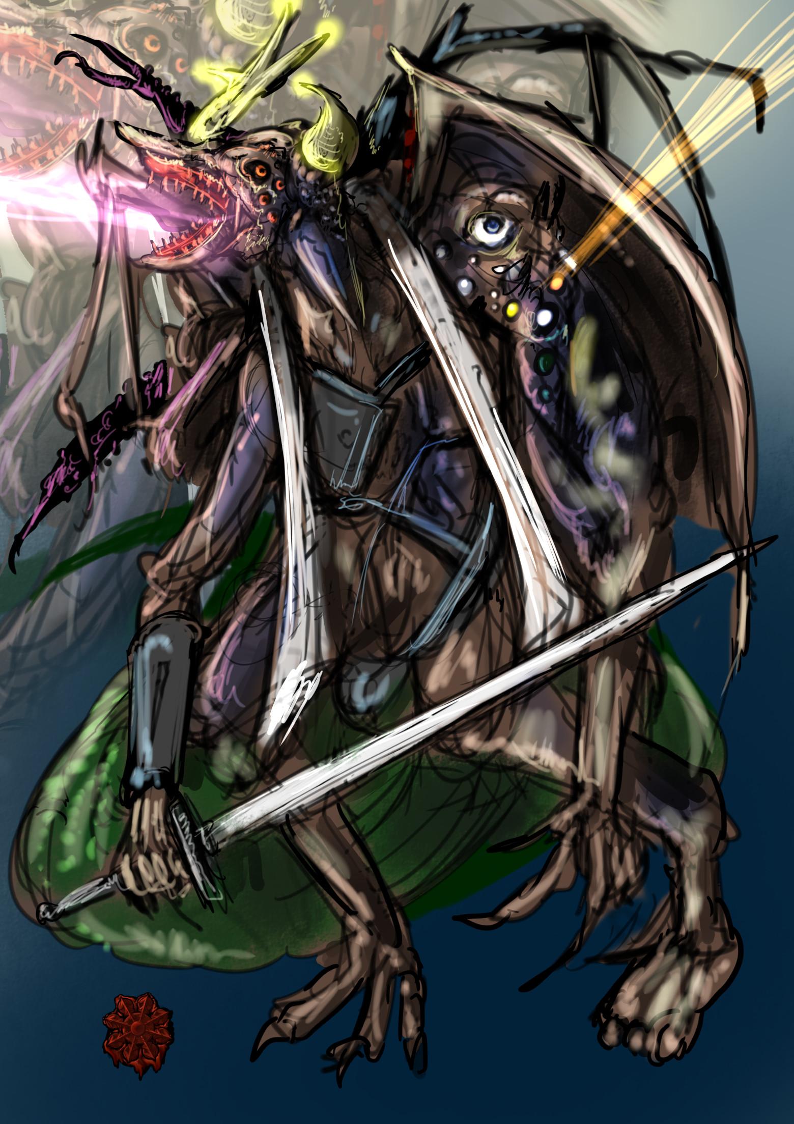 バルログ青魔導師