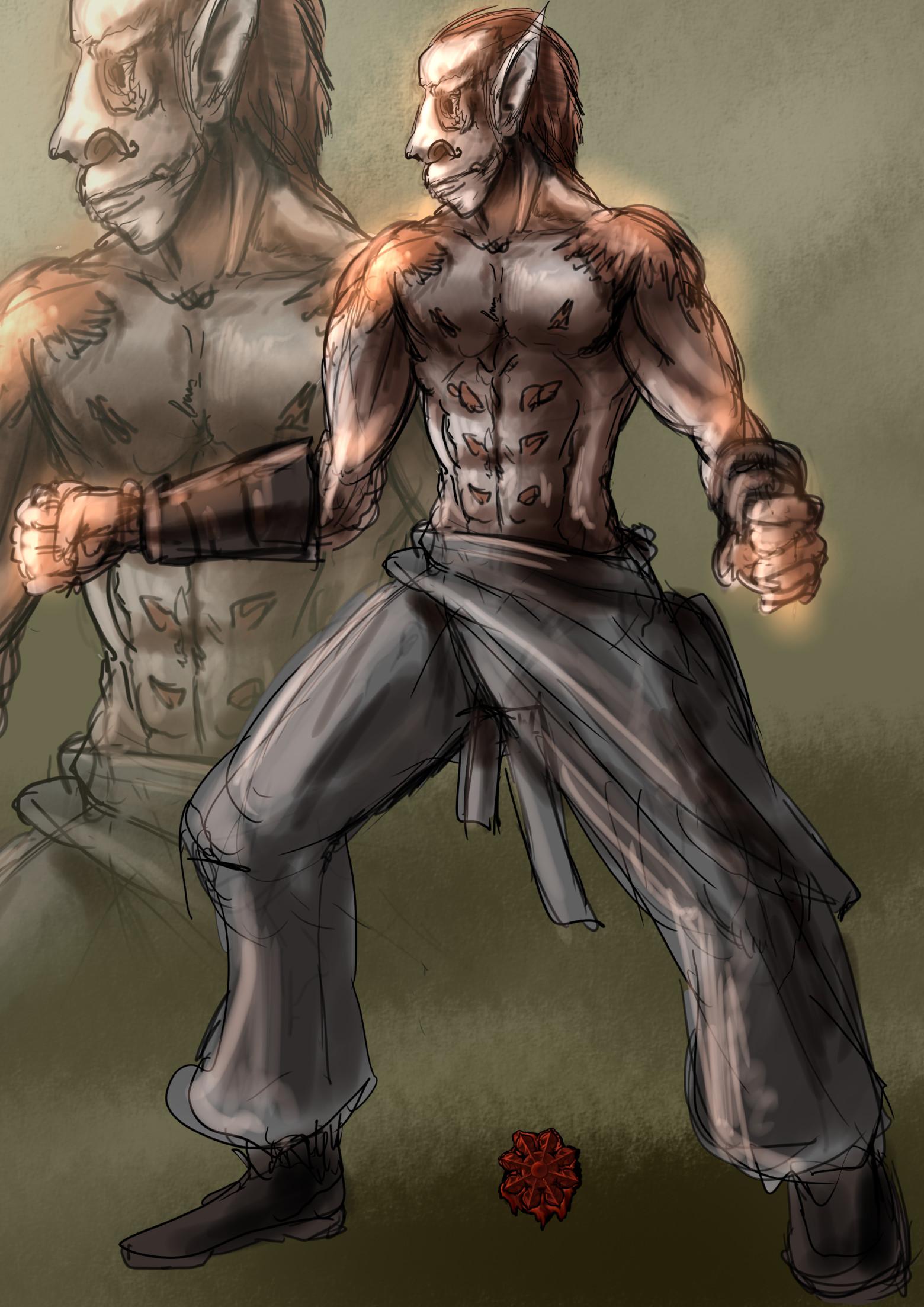 コボルド修行僧男