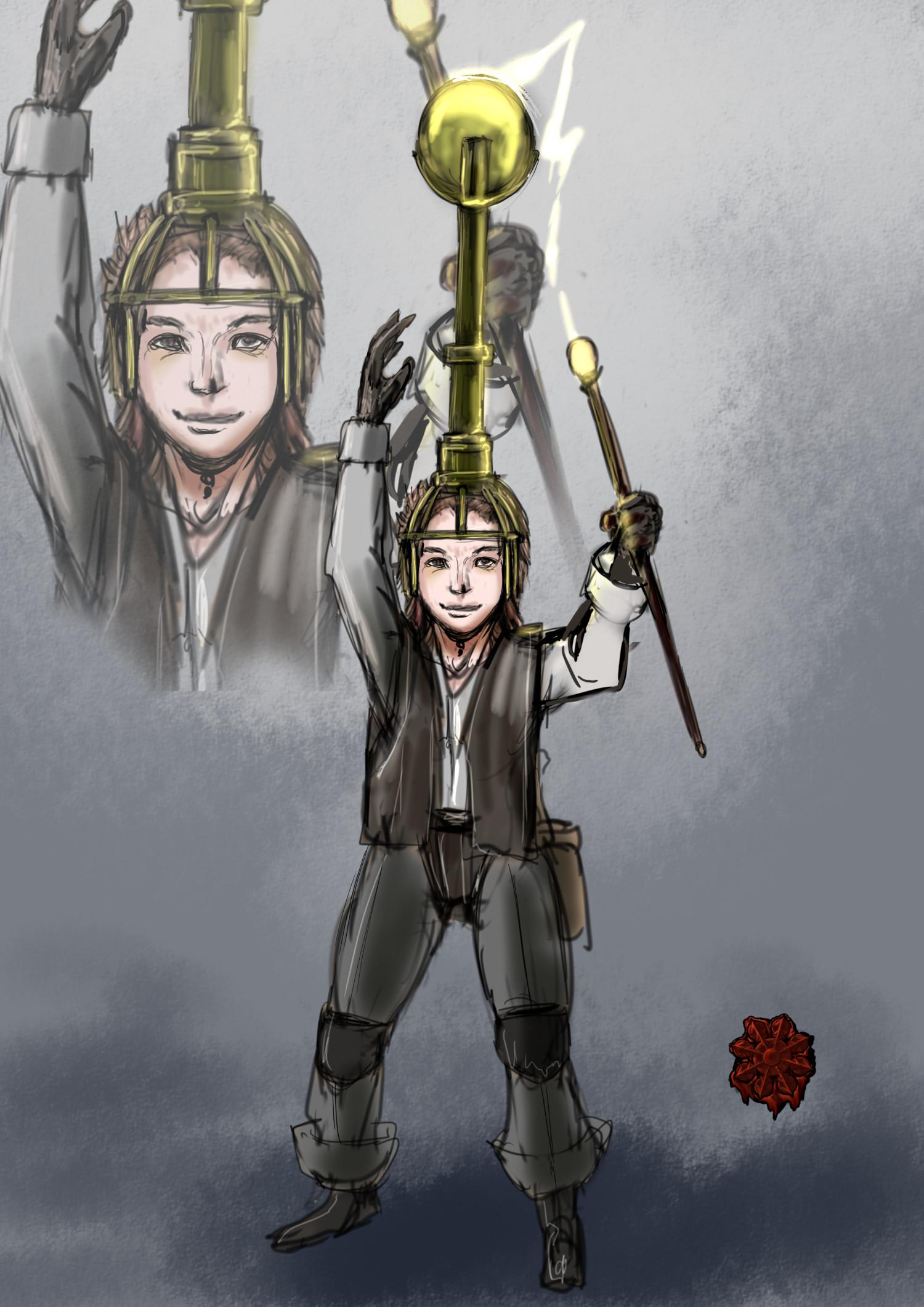 ホビット魔道具術師男