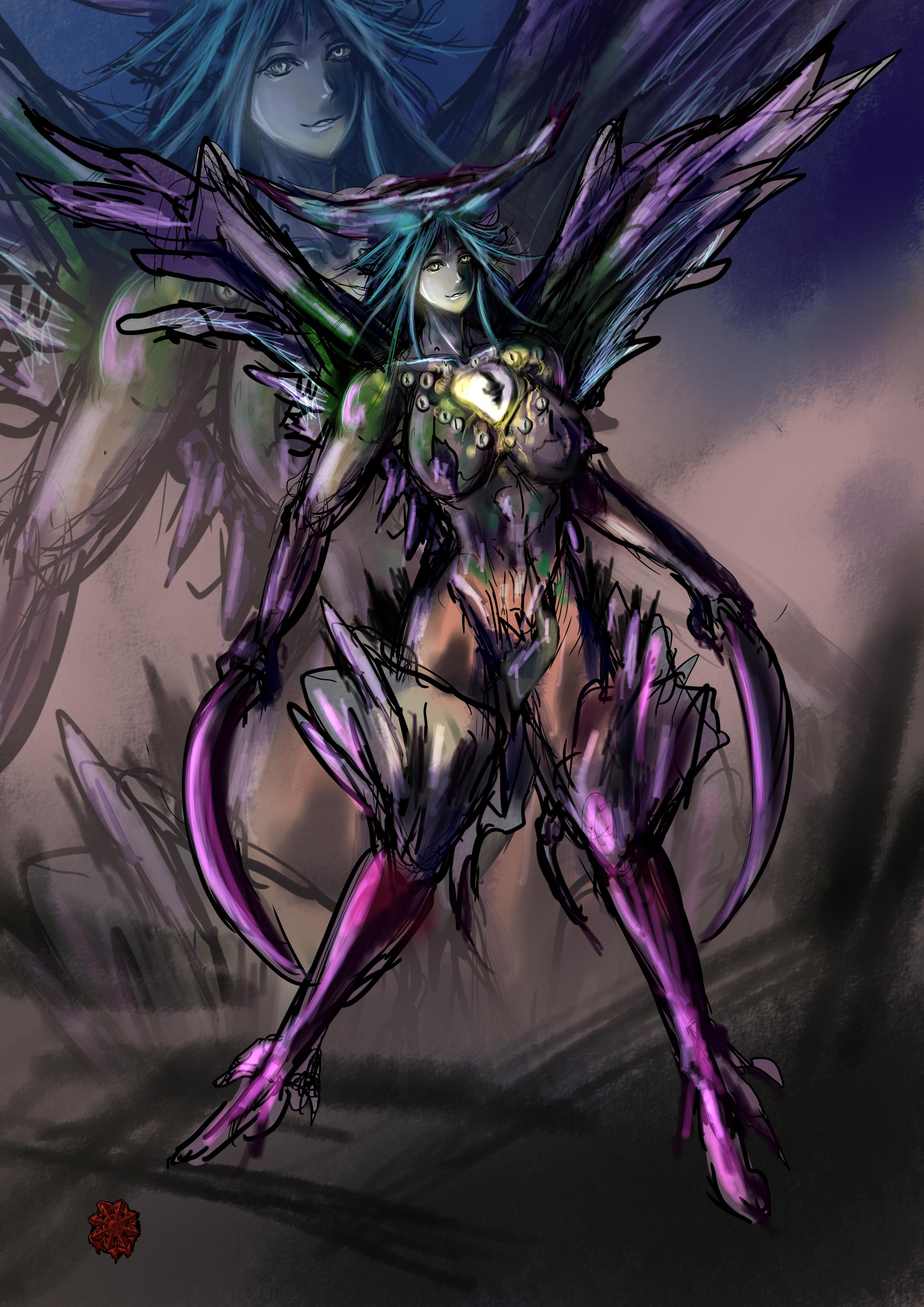 アルコン超能力者女